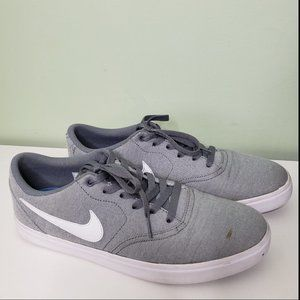 Mens NIKE SB Check Solarsoft Canvas skate shoes